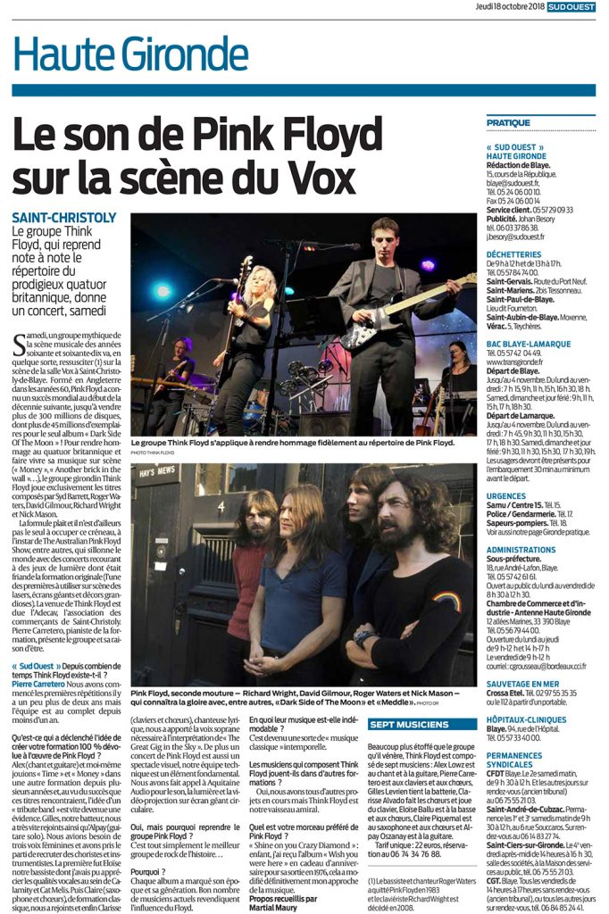 Sud ouest 18 10 2018 vox 01
